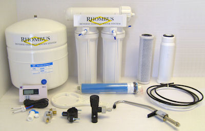 Rhombus Reverse Osmosis System (Components)