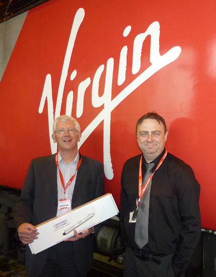 Aqua Cure N-UV Systems on Virgin Trains